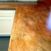 cement counter top