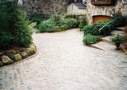 natural stone driveway