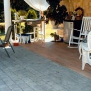 stamped concrete floor