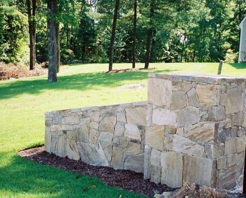 stone wing wall ri