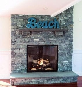 custom fireplace facade - custom fireplace mantle