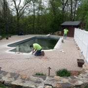 Exposed Aggregate Custom Coping