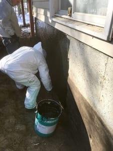 basement waterproofing in rhode island exterior basement waterproofing